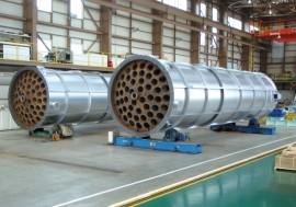 電気炉集塵機用ガスクーラー